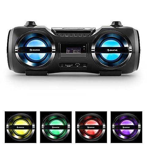 auna Soundblaster M Ghettoblaster chaîne stéréo multimédia avec Bluetooth 3.0
