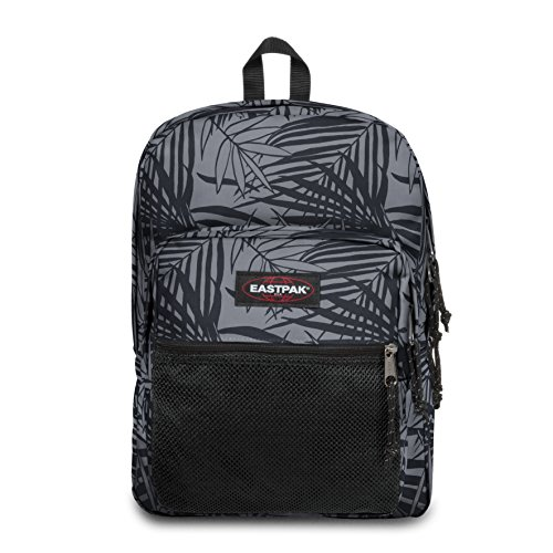 Eastpak Pinnacle Sac à  dos, 42 cm, 38 L, Noir (Leaves Black)