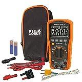 Digitales Multimeter, automatische Bereichseinstellung, 1000 V, CAT IV, Orange/Schwarz, MM600 Klein Tools