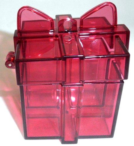1a TUPPER Eleganzia Weihnachten GESCHENKBOX klein --- rot