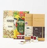 Süßes Geschenkset In 5 Varianten - Raw & Vegan - Vegane Schokoladen Geschenke Mit Manufaktur- & Edelschokolade