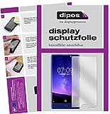 dipos I 6X Schutzfolie klar passend für Doogee Mix (5,5 Zoll) Folie Bildschirmschutzfolie