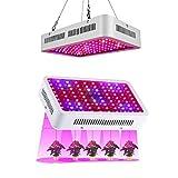 1000W/220V LED Blüte Lampe mit IR UV, risingmed Licht LED Kultur Grow Light LED Panel Grow Light für Pflanzen Wachstum Blumen und Gemüse (310x 212x 60mm)