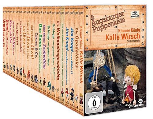 Augsburger Puppenkiste: 20 Filme Mega Collection mit Jim Knopf, Urmel, Sams uvm. im Set (20 DVDs)