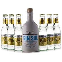 GIN SUL(1 x 0.5L) + 6 Flaschen Fever-Tree Tonic Water (6 x 0.2L)