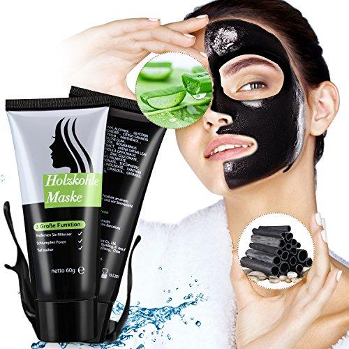Black Mask, Schwarze Maske Gegen Mitesser,Schwarze Gesichtsmaske, Deep Clean Blackhead Maske Mitesser Entfernung, Blackhead Peel Off Maske,Black Off Maske, Mitesser Maske Mitesser Entferner