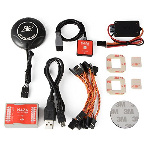XCSOURCE NEO-M8N Modulo GPS Compass + DJI Naza-M Lite Flight Controller BEC LED per Multirotor Aircraft RC568