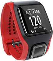 TomTom Multi-Sport Cardio GPS Watch - Red/Black (Certified Refurbished)
