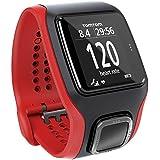 TomTom Reloj Running Cardio, color rojo y negro (Reacondicionado Certificado)