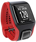 TomTom Runner Cardio GPS Running Watch - Red/Black (Certified Refurbished)