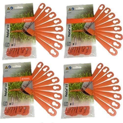 Stihl PolyCut 2-2 Kunststoffmesser für FSA 45 Rasentrimmer 32 Stück 40080071000