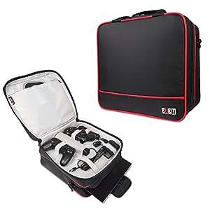playstation 4 aufbewahrung taschen bubm tragetasche tasche f r reisen mit verstellbarem. Black Bedroom Furniture Sets. Home Design Ideas