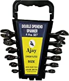 Ajay Double Ended Open Jaw Spanner (6 PC...