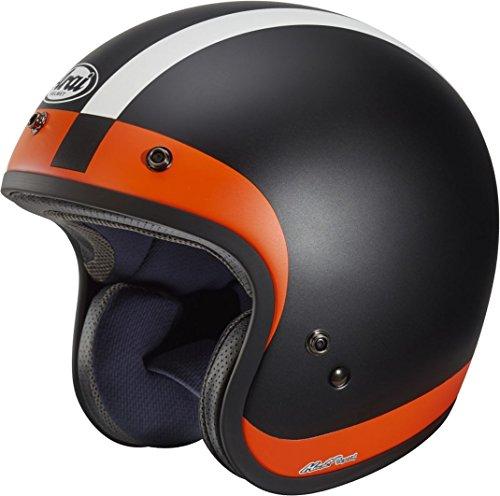 Arai FREEWAY CLASSIC HALO Jethelm matt schwarz/orange M (Halos Orangen)