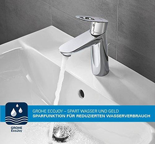 Grohe – Badewannenarmatur, Eurosmart Einhand-Wannenbatterie mit Brausegarnitur - 4