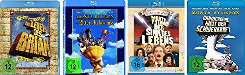 Monty Python Klassiker Collection - 4 Kultfilme im Set - Deutsche Originalware [4 Blu-rays]