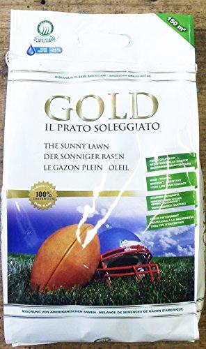 MISCUGLIO DI SEMI PER PRATO ERBOSO 'GOLD IL PRATO SOLEGGIATO' IN CONFEZIONE DA 5 KG