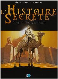 """Afficher """"L'histoire secrète n° 8<br /> Les 7 piliers de la sagesse"""""""
