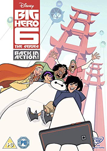 Big Hero 6 The Series: Back In Action [UK Import] (Disney Dvd-big Hero 6)