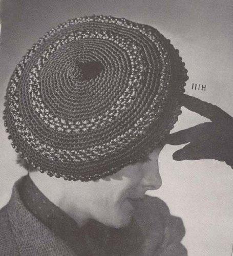 Crocheted Beaded Beret Crochet Hat Cap Pattern (English Edition) -