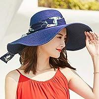 Vinteen Sombrero de Color Sólido Sombrero de Sombrero de Verano Femenino  Gorra de Sombrero Sombrero de 245c257c62d