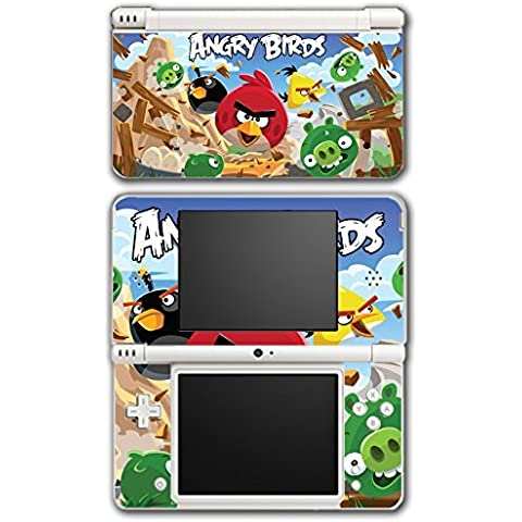 Angry Birds Red Chuck Bomb Pig Video Game Vinyl Decal Skin Sticker Cover for Nintendo DSi XL System by Vinyl Skin