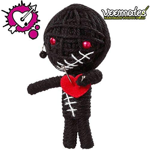 Voomates String Doll Voodoo-Puppen - handgemachte Sorgen-Püppchen Fingerpuppen - Die Handpuppen mit 81 Modelle - Gothic Boy