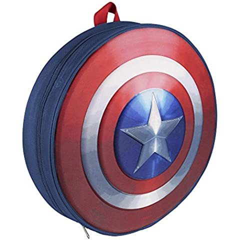 Marvel 2100001530 35 cm Captain America Shield 3d zaino