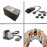 LEGO Potenzfunktionen Zug Motor set inklusive IR Empfänger, Fernbedienung & Batteriebox