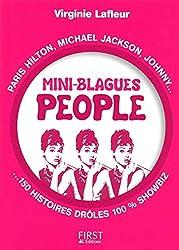 Petit livre de - Mini blagues people