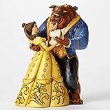 Figur Die Schöne und das Biest–Dancing–Disney Traditionen Jim Shore