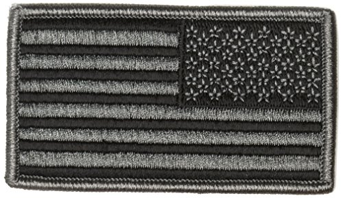 Tac Shield American Flag Patch with Foliage Green Reverse Facing - Reverse-flag-patch