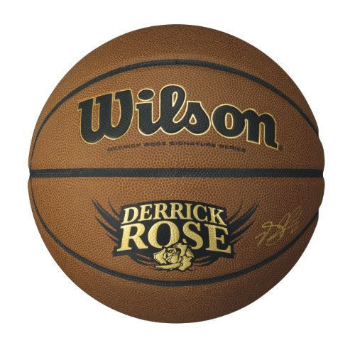 WILSON Derrick Rose Hero Basketball - Braun, 40 (Rose Derrick)