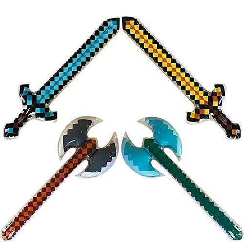 Yojoloin Riesen 4 STÜCKE Aufblasbare Schwert Stick Blow -
