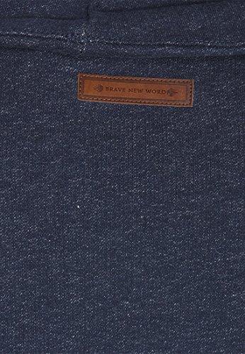 Naketano Male Sweatshirt Ginger Ali Indigo Shizzle