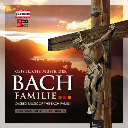 Sacred Music of the Bach Family by Soloists/Rostocker Motettenchor/Capella Fidicinia (2011-05-31)