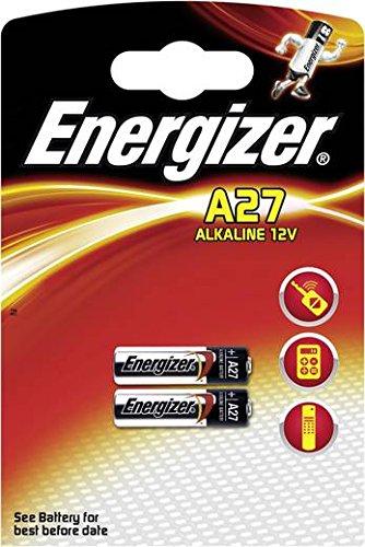 Galleria fotografica Lotto di 4batterie Energizer A27–2Blister ha 2pile–alcalino 12V