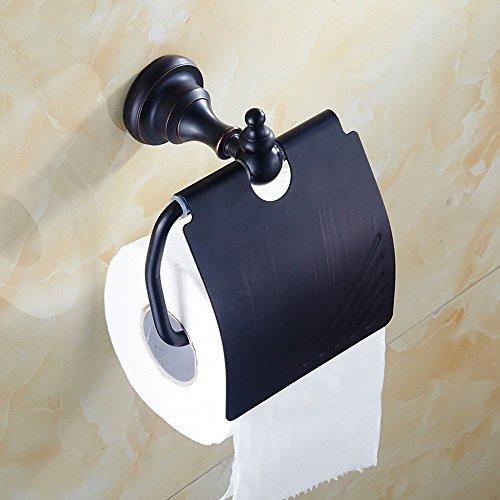 weare Home–Lunes–Portarrollos WC Soporte para rollos de alta calidad latón aceite rubbed Bronce taladrar Retro Vintage Antiguo Decoración Diseño cuarto de baño accesorios