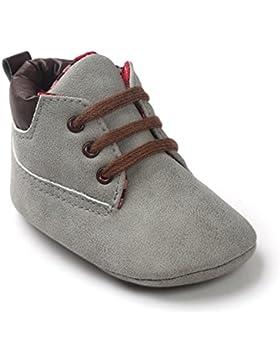 [Gesponsert]FNKDOR Baby Mädchen Jungen Lauflernschuhe Rutschfest Weiche Schuhe für Neugeborene 0-18 Monate