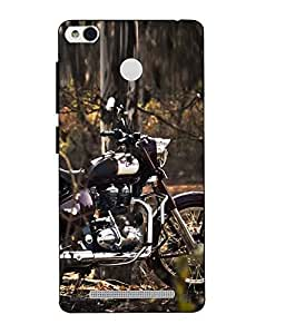 Case Cover Royal Enfield Printed Multicolor Hard Back Cover For Xiaomi Redmi 3S