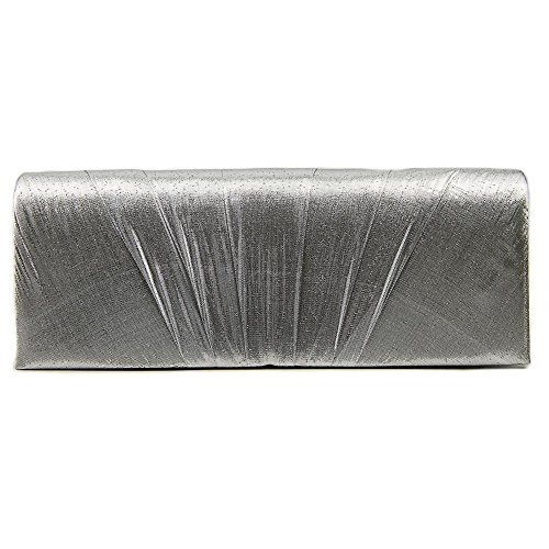 j-furmani-pleated-lame-wedding-bag-party-clutch-prom-evening-handbag-silver