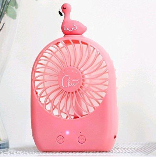 ingos Held Beach Fan - Batterie betrieben/USB-Lade-Desktop persönlichen Reise-Fan ()