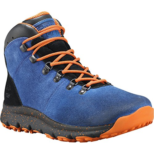Timberland Chaussures World Hiker Mid Blue Suede