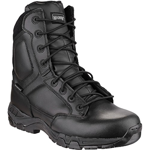 "Magnum Mens Magnum Viper Pro 8"" Leather Waterproof Patrol Boot Black Black"