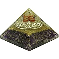 HARMONIZE Lila Amethyst Kronen-Chakra Balancing Therapie Symbol Orgon Reiki Healing Kristallpyramide Energie-Generator preisvergleich bei billige-tabletten.eu