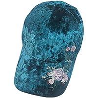 EUCoo Cappello Unisex Berretto da Baseball Floreale attività all Aria  Aperta Dimensione Regolabile Cappellino a36ecd3c0f82