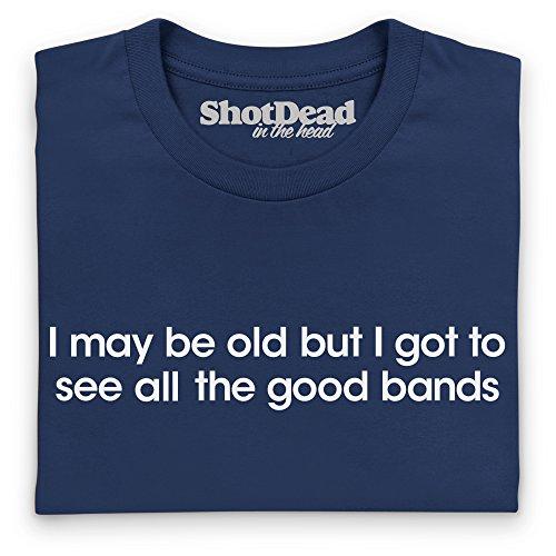 Good Bands T-Shirt, Herren Dunkelblau