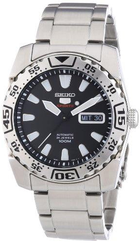 Seiko Herren-Armbanduhr XL Analog Automatik Edelstahl SRP165K1