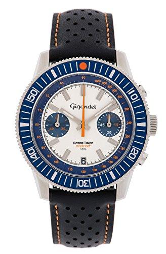 Gigandet Speed Timer Men's Analogue Chronograph Quartz Watch Blue White G7-008