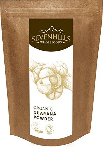 Sevenhills Wholefoods Guarana-Pulver Bio 100g